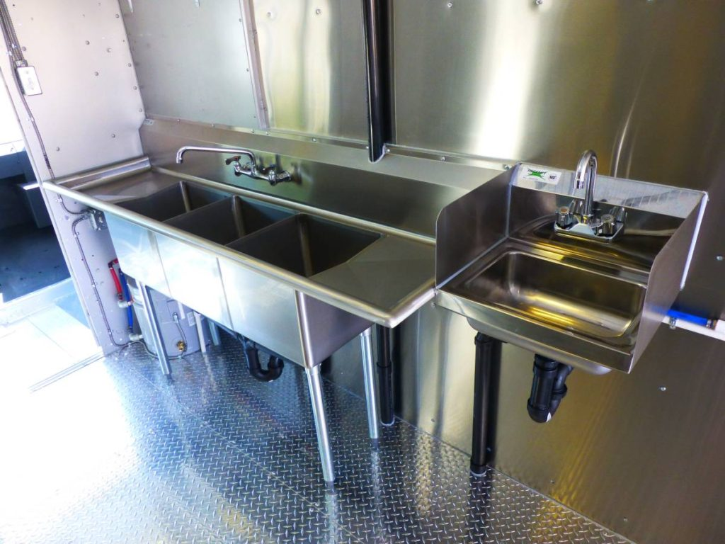 Custom Build 18 Kitchen Food Truck Stainless Steel