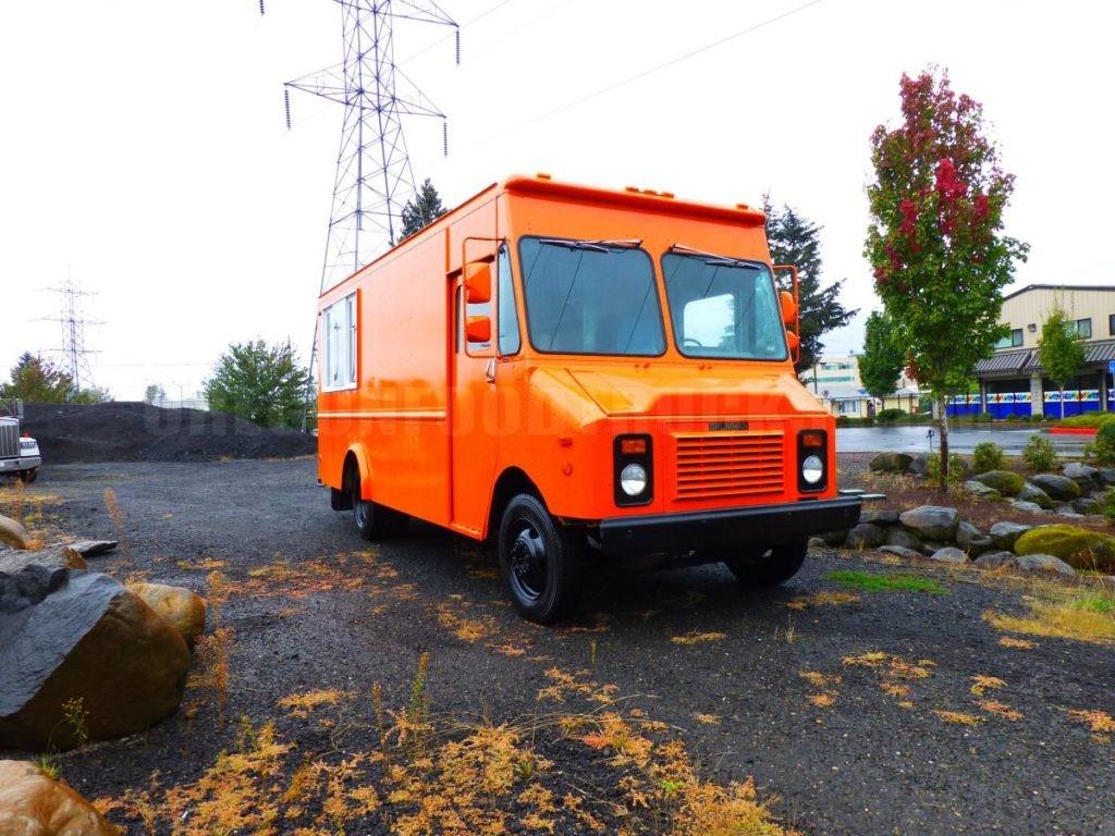 Orange Food Truck Oregon Food Trucks