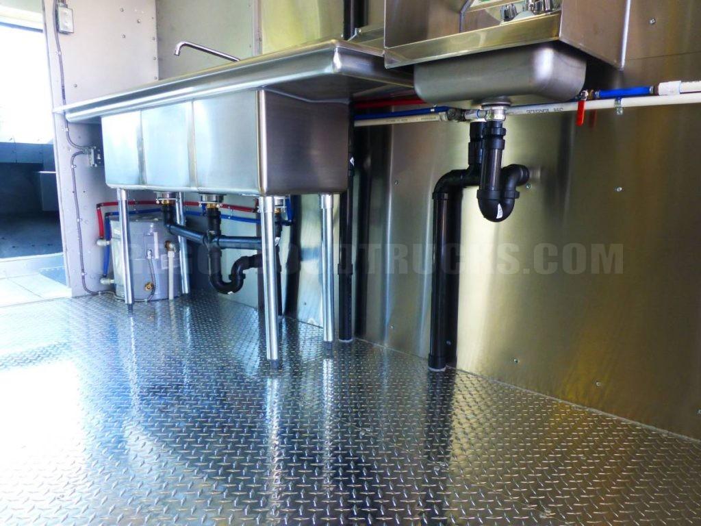 Custom Build 18 Kitchen Food Truck Stainless Steel